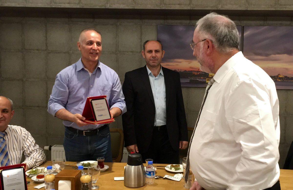BALÇIK Heating Elements ISK SODEX 2016 Middle East Representative Awards